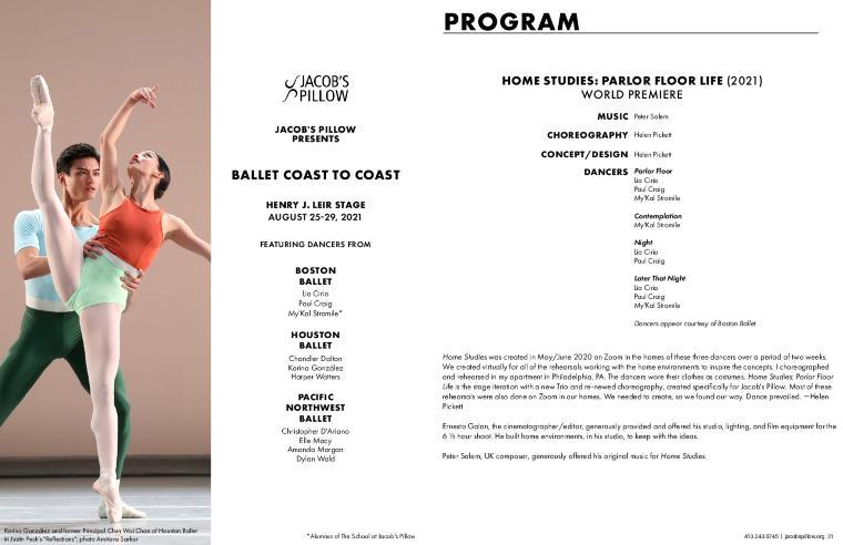 Ballet Coast to Coast