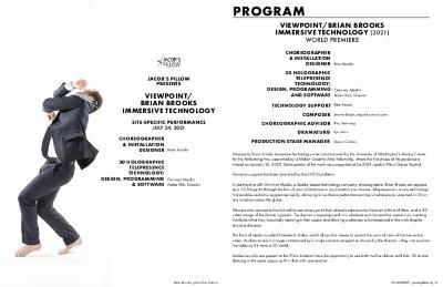 Brian Brooks Viewpoint Program 2021